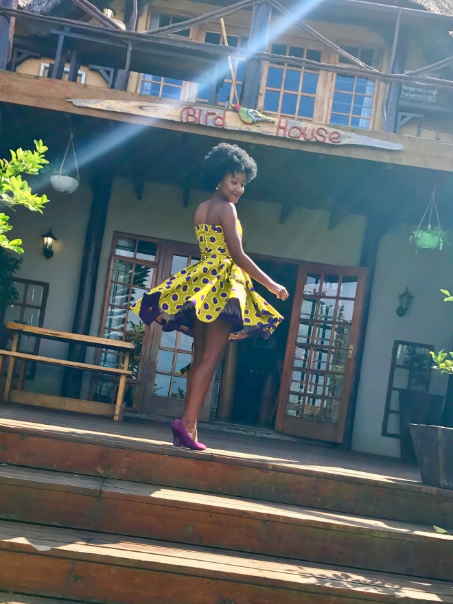 Nomzamo Mbatha Inspired dress