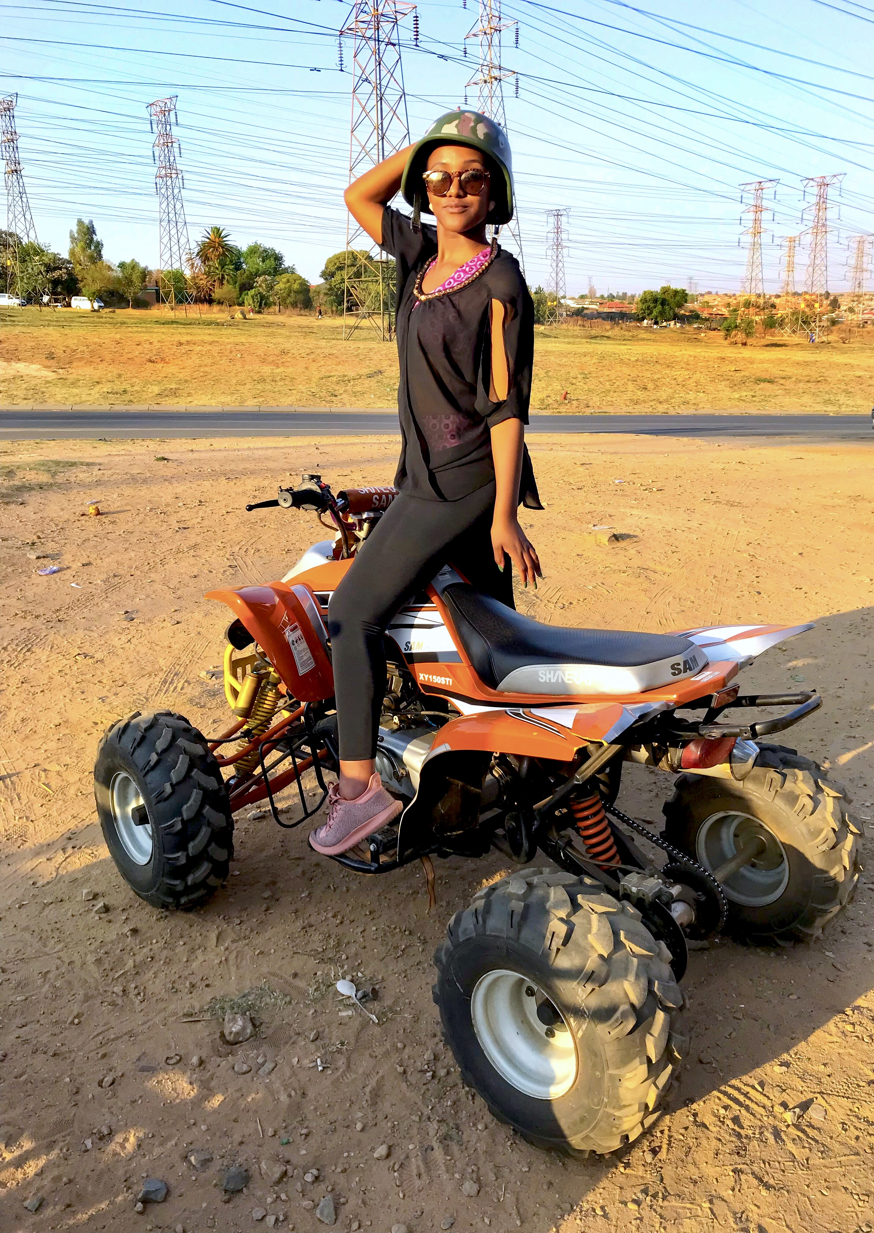 Quad Biking in Soweto
