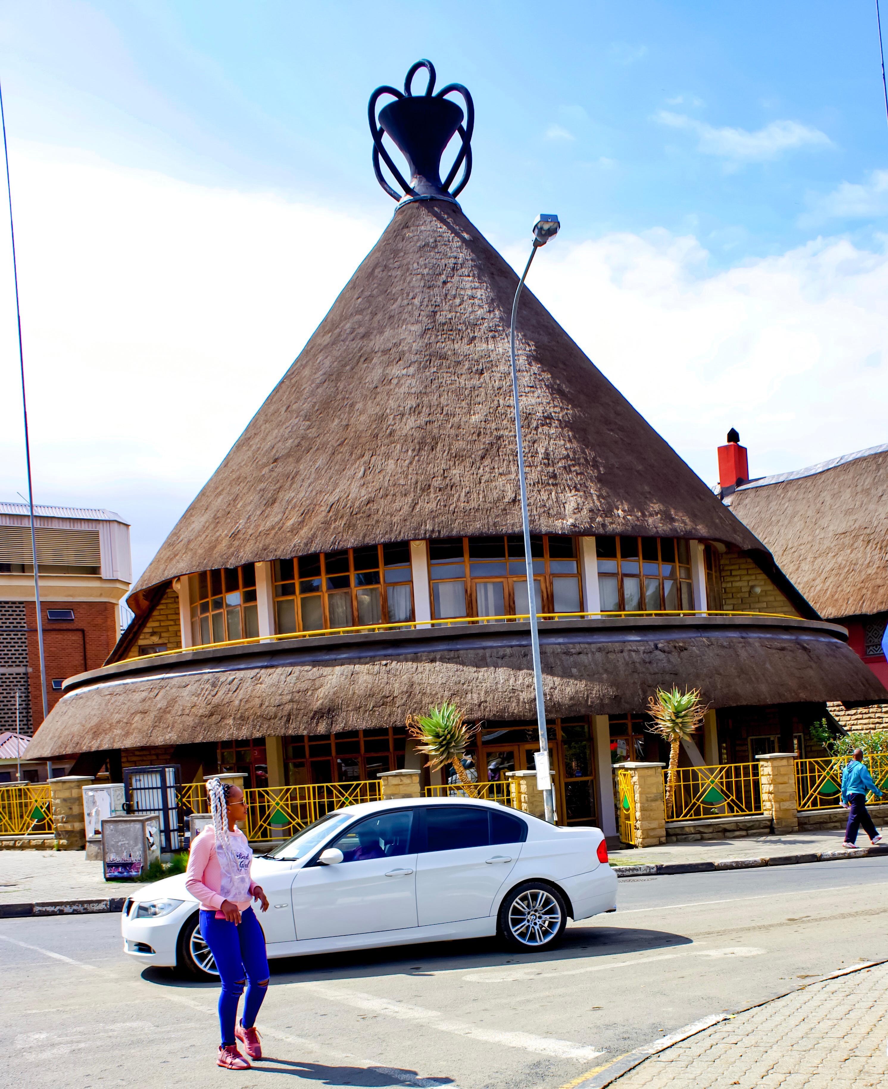 Mokotlo Hat Building in Maseru